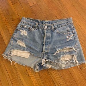 Amazing Vintage Levi Denim Shorts
